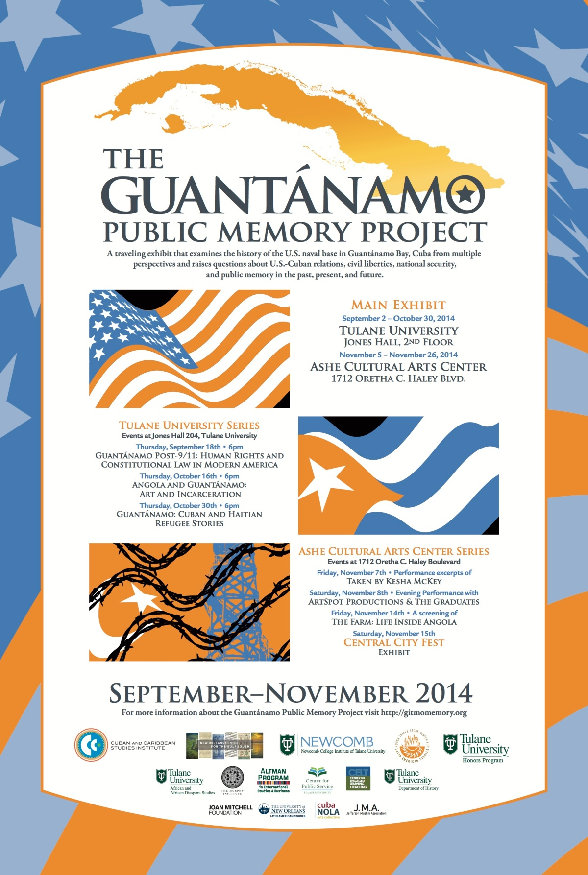 Guantánamo Public Memory Project comes toTulane